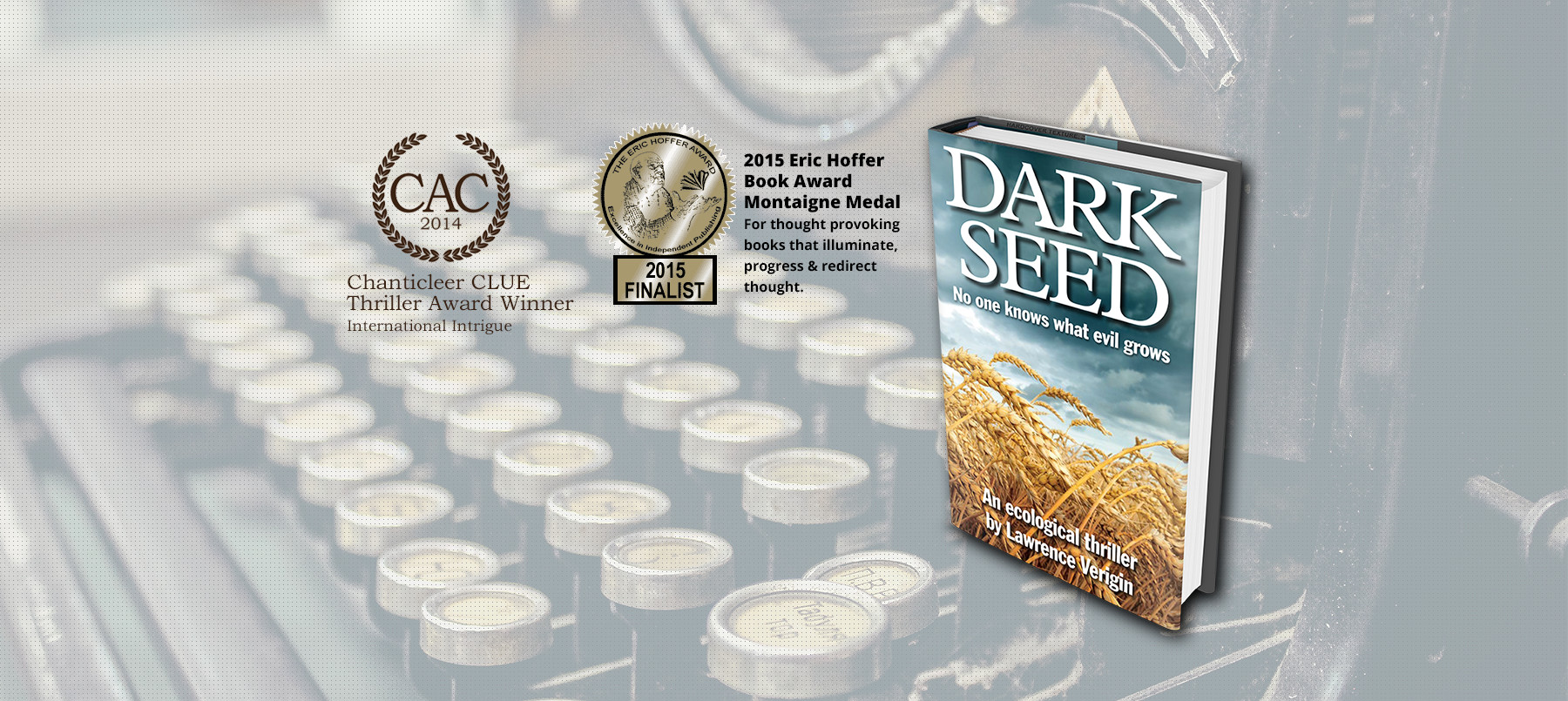 Lawrence Verigin - author of Dark Seed