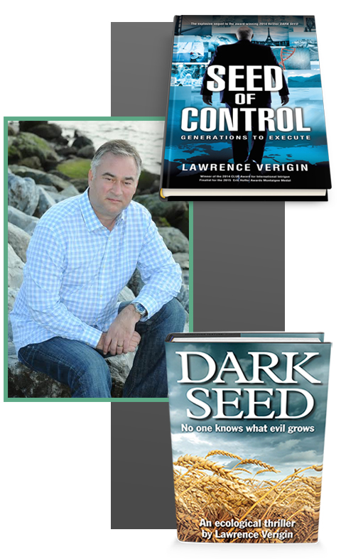Lawrence Verigin - author of Dark Seed and Seed of Control